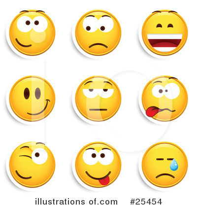 Emoticons Clipart #25454 by beboy