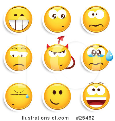 Emoticons Clipart #25462 by beboy