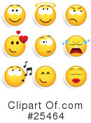 Emoticons Clipart #25464 by beboy