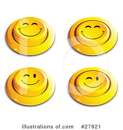 Royalty-Free (RF) Emoticons Clipart Illustration by beboy - Stock Sample #27821