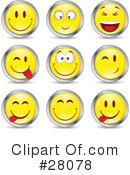 Royalty-Free (RF) Emoticons Clipart Illustration #28078