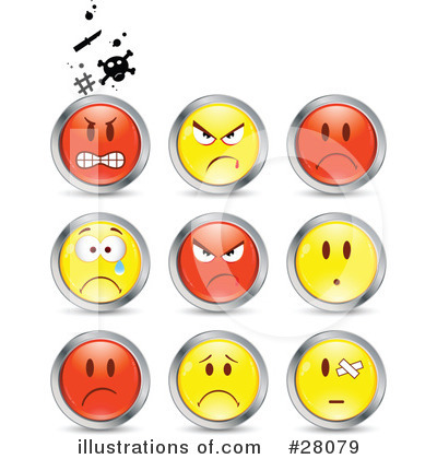 Emoticons Clipart #28079 by beboy