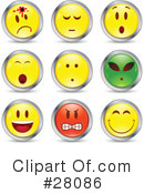 Emoticons Clipart #28086 by beboy