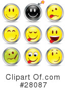 Emoticons Clipart #28087 by beboy
