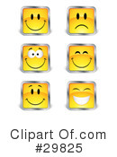 Royalty-Free (RF) Emoticons Clipart Illustration #29825