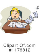Royalty-Free (RF) Employee Clipart Illustration #1176812