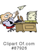 Royalty-Free (RF) Employee Clipart Illustration #87926