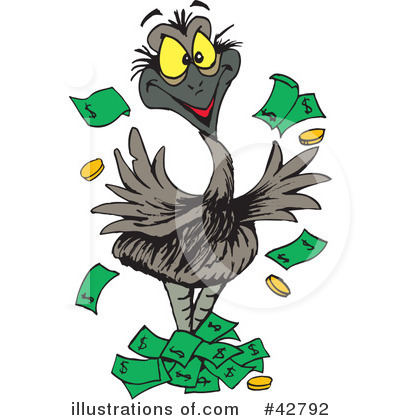 Clip art emu