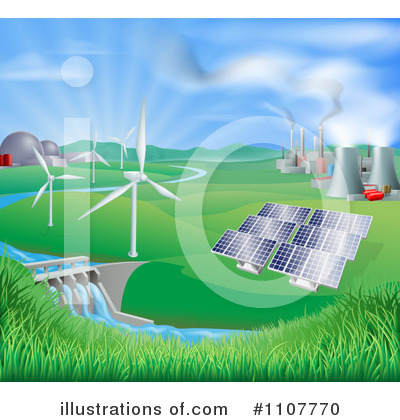 Solar Panel Clipart #1107770 by AtStockIllustration