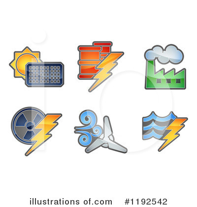 Solar Energy Clipart #1192542 by AtStockIllustration