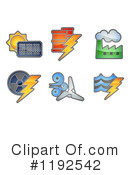 Royalty-Free (RF) Energy Clipart Illustration #1192542