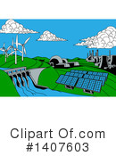 Energy Clipart #1407603 by AtStockIllustration