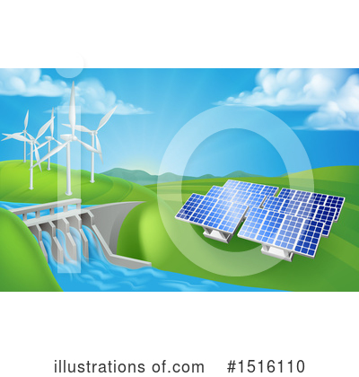 Solar Energy Clipart #1516110 by AtStockIllustration