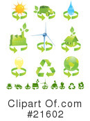 Royalty-Free (RF) Energy Clipart Illustration #21602