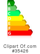 Energy Rating Clipart #35426