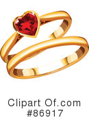 Royalty-Free (RF) Engagement Ring Clipart Illustration #86917