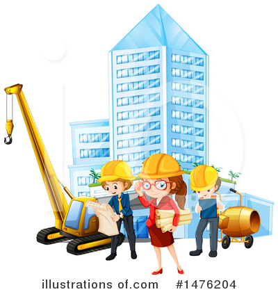 Engineer Clipart #1476204 by Graphics RF