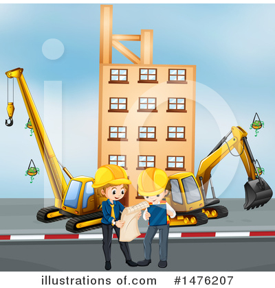 Royalty-Free (RF) Engineer Clipart Illustration by Graphics RF - Stock Sample #1476207