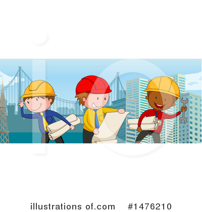Engineer Clipart #1476210 by Graphics RF