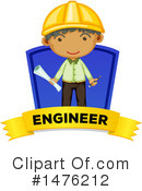 Royalty-Free (RF) Engineer Clipart Illustration #1476212