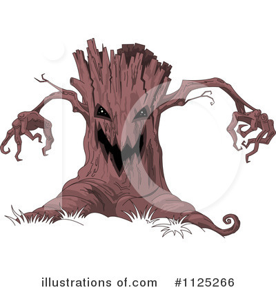 Tree Clipart #1125266 by Pushkin