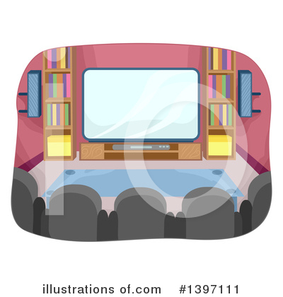 Tv Clipart #1397111 by BNP Design Studio