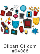 Royalty-Free (RF) Entertainment Clipart Illustration #94086