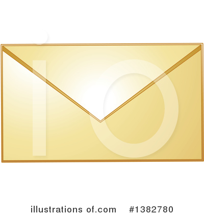 Envelope Clipart #1382780 by MilsiArt