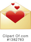 Envelope Clipart #1382783 by MilsiArt