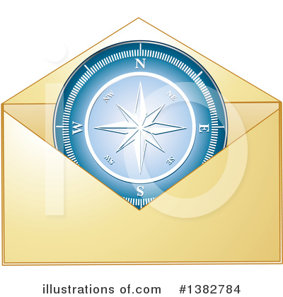 Envelope Clipart #1382784 by MilsiArt