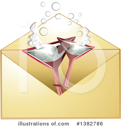 Envelope Clipart #1382786 by MilsiArt
