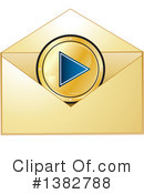 Envelope Clipart #1382788 by MilsiArt