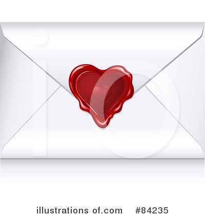 Royalty-Free (RF) Envelope Clipart Illustration by Anja Kaiser - Stock Sample #84235