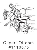 Equestrian Clipart #1110675 by Dennis Holmes Designs