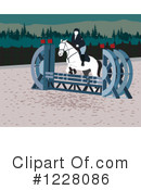 Royalty-Free (RF) Equestrian Clipart Illustration #1228086
