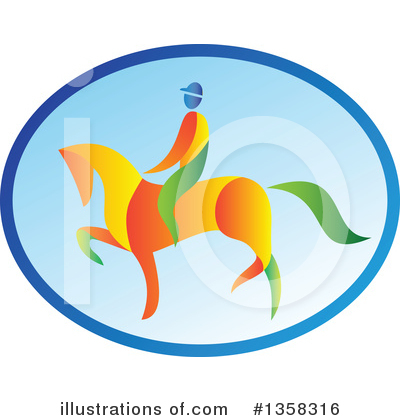 Jockey Clipart #1358316 by patrimonio