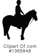 Equestrian Clipart #1365848 by Maria Bell
