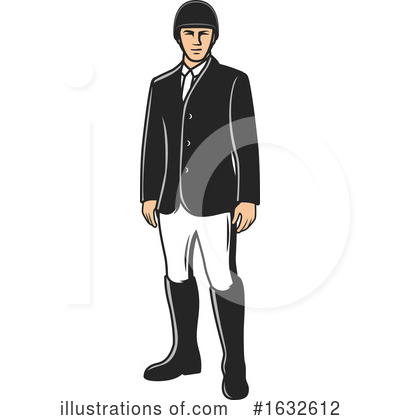 Equestrian Clipart #1632612 by Vector Tradition SM