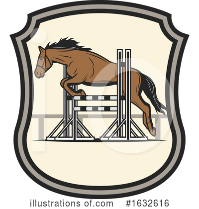 Equestrian Clipart #1632616 by Vector Tradition SM