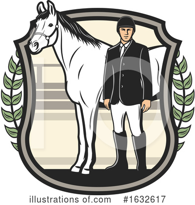 Equestrian Clipart #1632617 by Vector Tradition SM