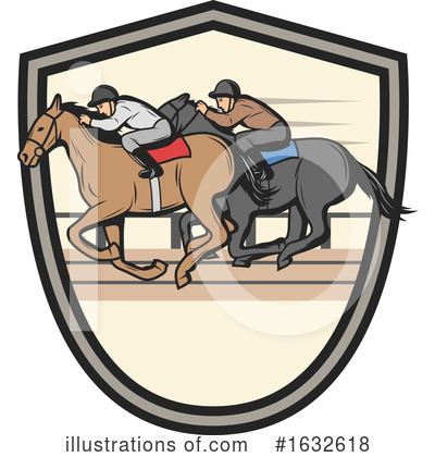 Equestrian Clipart #1632618 by Vector Tradition SM