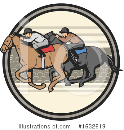 Equestrian Clipart #1632619 by Vector Tradition SM