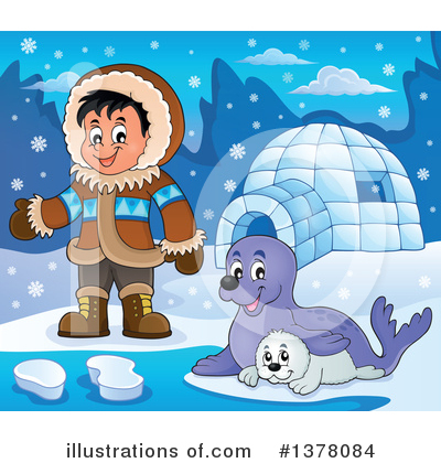 Seal Clipart #1378084 by visekart