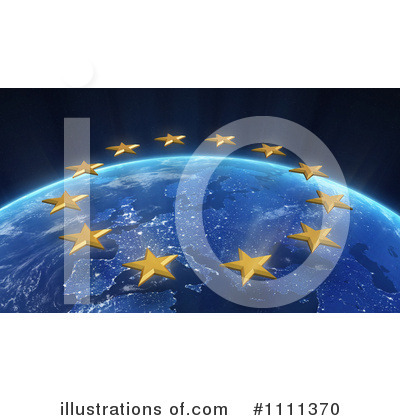 Royalty-Free (RF) Europe Clipart Illustration by Mopic - Stock Sample #1111370