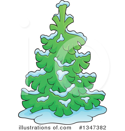 Tree Clipart #1347382 by visekart