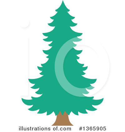 Christmas Tree Clipart #1365905 by visekart