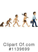Royalty-Free (RF) Evolution Clipart Illustration #1139699