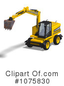 Excavator Clipart #1075830 by Ralf61