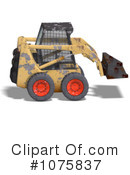 Excavator Clipart #1075837 by Ralf61