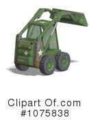 Excavator Clipart #1075838 by Ralf61